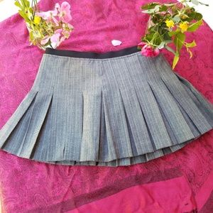 VINTAGE GUESS JEANS MINI  PLEATED SKIRT